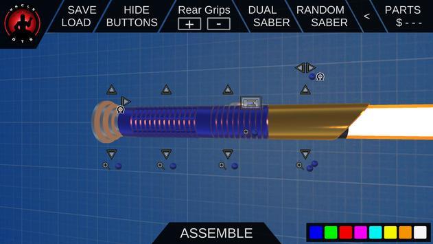 3D Saber Builder for HHCLS OTS apk screenshot