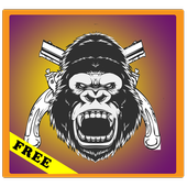 Chimp Death Shooter-Zombies icon