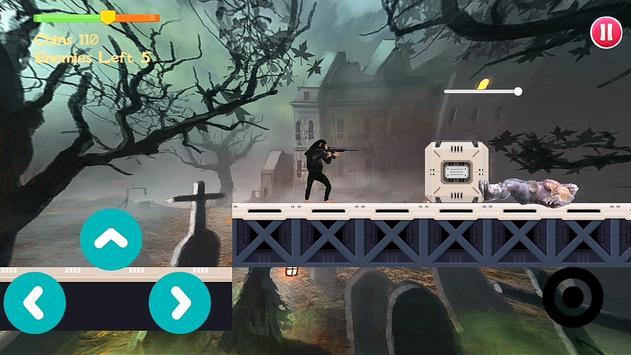 Chimp Death Shooter-Zombies screenshot 2