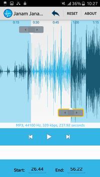 MP3 Cutter & Ringtone Maker screenshot 14