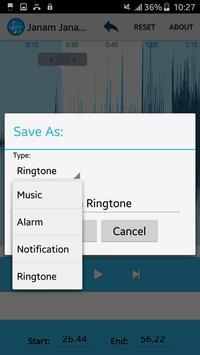 MP3 Cutter & Ringtone Maker screenshot 16