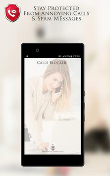 Calls Blacklist - Call Blocker apk screenshot