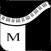 Black and White- Maestro Piano icon