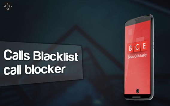Calls Blacklist ™-Call blocker poster