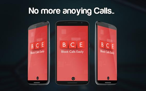 Calls Blacklist ™-Call blocker apk screenshot