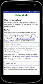 Python screenshot 1