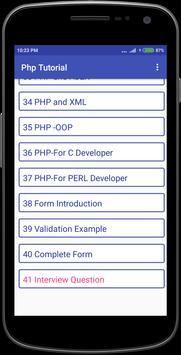 Php Tutorial screenshot 6