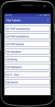 Php Tutorial poster