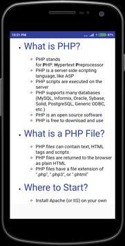 Php Tutorial screenshot 1