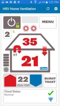 HRV Home Ventilation screenshot 1