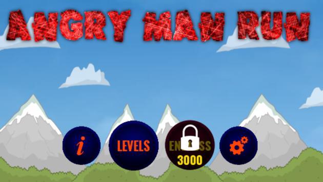 Angry Man Run screenshot 1
