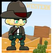 Western Cowboy icon