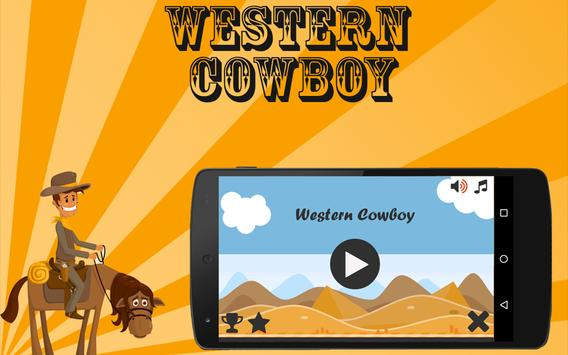 Western Cowboy poster