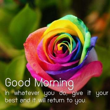 ... Good Morning Flower screenshot 4 ...