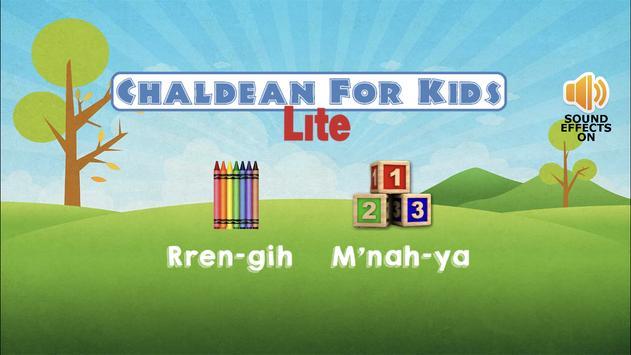 Chaldean For Kids Lite poster