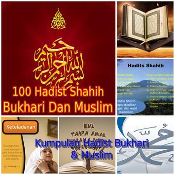 Hadits Shahih Bukhori Muslim poster