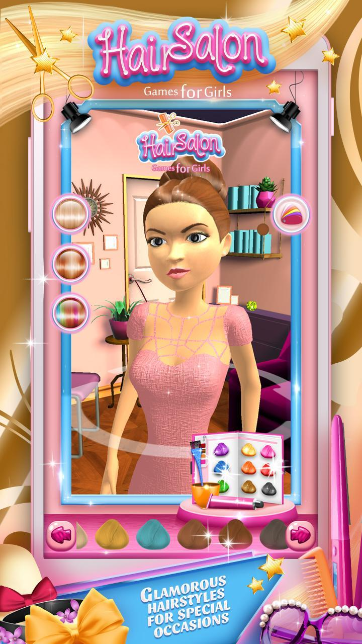 Hair Salon Games For Girls For Android Apk Download