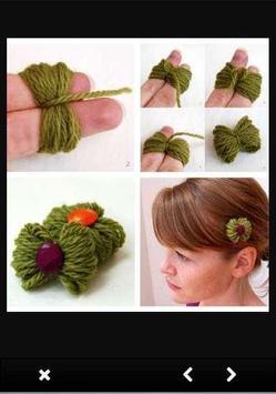 DIY Hair Accessories Idea screenshot 1