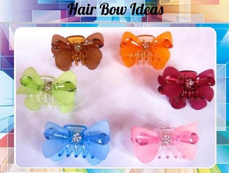 Hair Bow Ideas poster