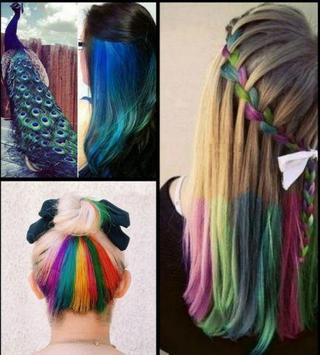 Hair Dye Ideas apk screenshot