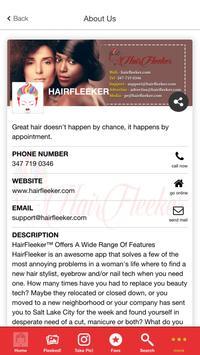 HairFleeker screenshot 2