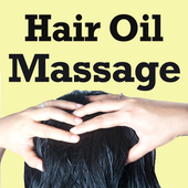Hair Oil Massage VIDEOs icon