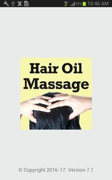 Hair Oil Massage VIDEOs poster