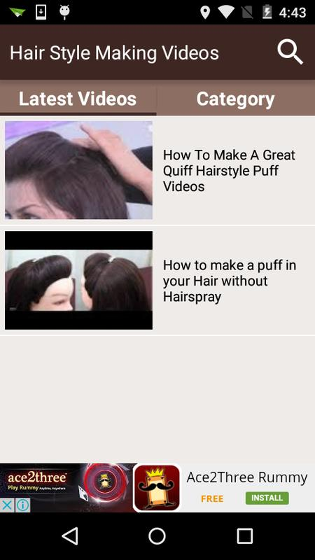 Hair Style Making Videos For Android Apk Download
