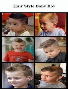 Hair Style Baby Boy poster