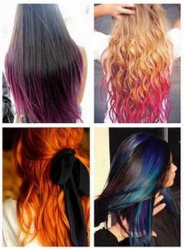 Hair color ideas apk screenshot