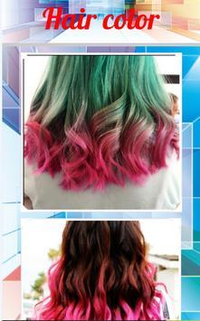 Hair color screenshot 1