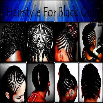 Hairstyle For Black Girl poster