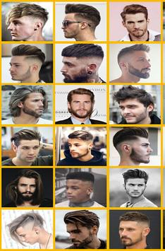 Hairstyle men poster