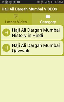 Haji Ali Dargah Mumbai VIDEOs apk screenshot