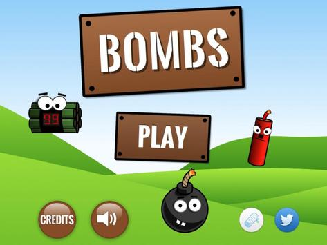 Bombs poster