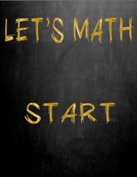 Let's Math poster