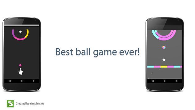 Color ball HD apk screenshot