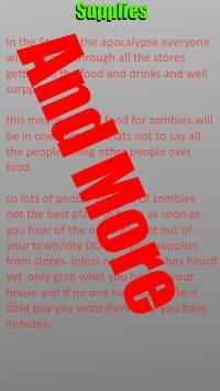 Zombie Survival Guide screenshot 1