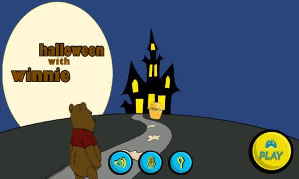 Winnie The halloween bear poster