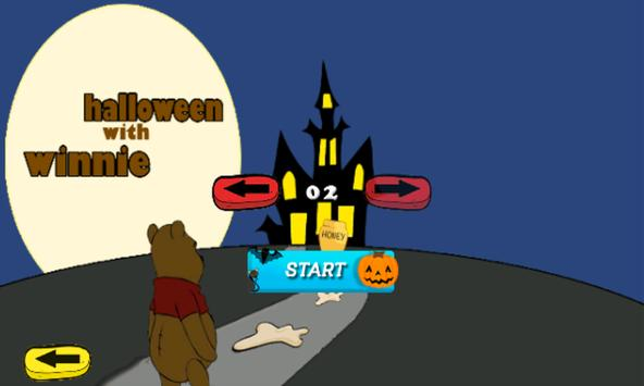 Winnie The halloween bear apk screenshot