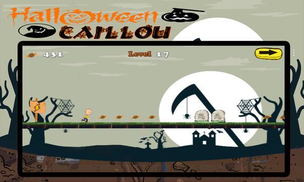 Halloween Caillou Time apk screenshot