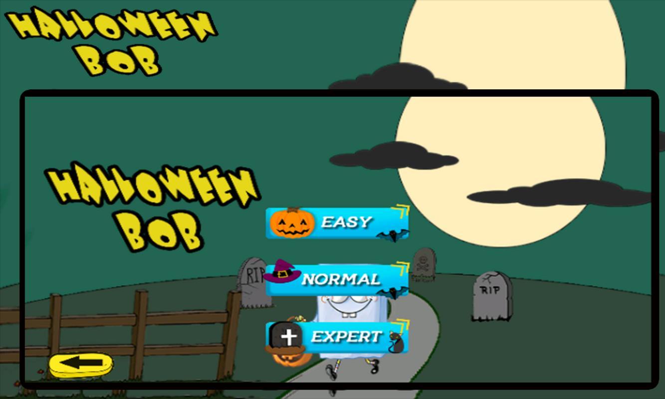 halloween bob poster halloween bob apk screenshot