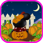 Minnie Halloween Run icon