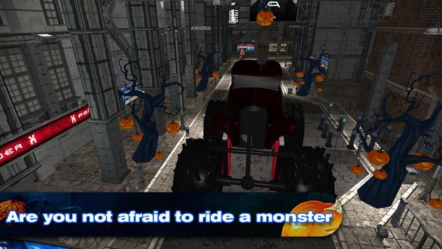 Halloween Monster Truck poster