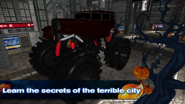 Halloween Monster Truck screenshot 1