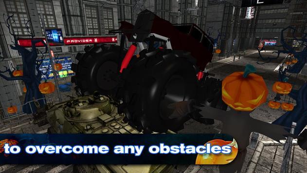 Halloween Monster Truck screenshot 2
