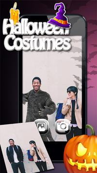 Halloween costumes Photo Booth poster