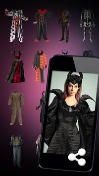 Halloween costumes Photo Booth apk screenshot