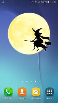 Halloween Live Widget apk screenshot
