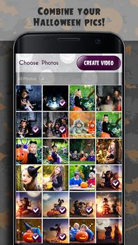 Halloween Photo Video Maker With Music poster